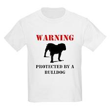 Protected By A Bulldog T-Shirt