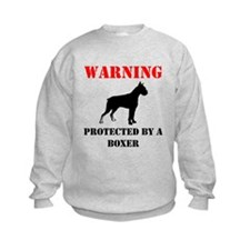 Protected By A Boxer Sweatshirt