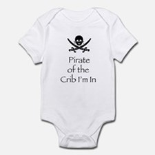 PirateCribinblk Body Suit
