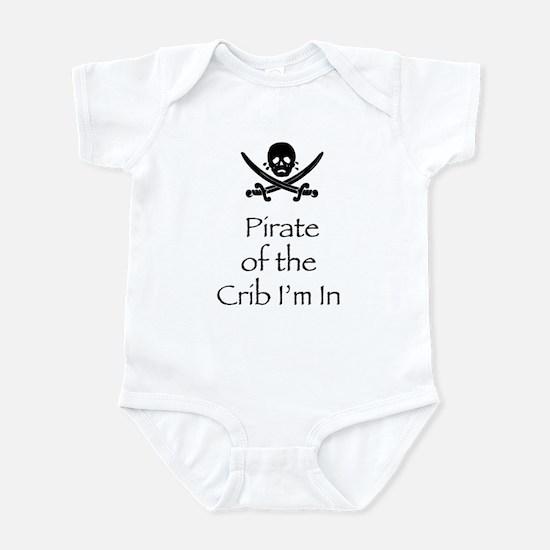 PirateCribinblk Body Suit