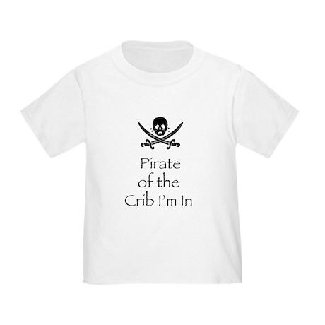 PirateCribinblk T-Shirt