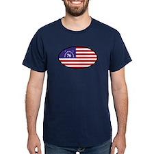 Spirit of '76 Flag Oval T-Shirt