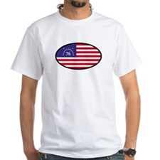 Spirit of '76 Flag Oval Shirt