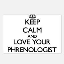 Keep Calm and Love your Phrenologist Postcards (Pa