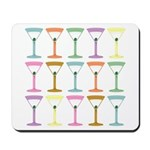 Martini Four Pop Art Martinis Mousepad