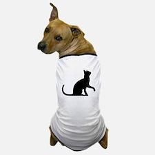 Cat Sitting Dog T-Shirt
