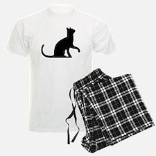 Cat Sitting Pajamas