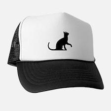 Cat Sitting Trucker Hat
