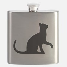 Cat Sitting Flask