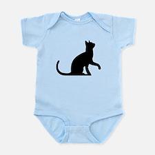 Cat Sitting Body Suit