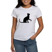 Cat Sitting T-Shirt