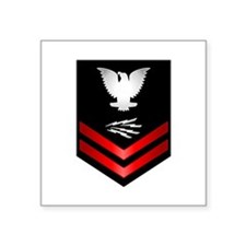 navy_e5_infotech Sticker