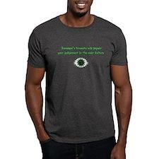 Impair Judgement (Green) T-Shirt