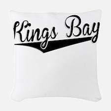 Kings Bay, Retro, Woven Throw Pillow