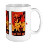 Obey the Boxer! Large Mug