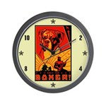 Obey the Boxer! Wall Clock