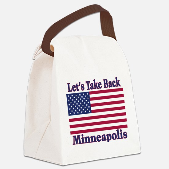 TakeBackMinneapolis.png Canvas Lunch Bag