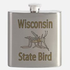 Wisconsin State Bird.png Flask