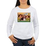2 Angels & Basset Women's Long Sleeve T-Shirt