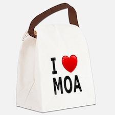 I Love MOA.jpg Canvas Lunch Bag