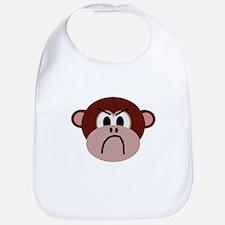 Vexed Monkey Bib