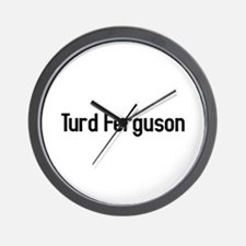 turd ferguson Wall Clock