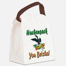 HackensackMinnesotaLoon.png Canvas Lunch Bag