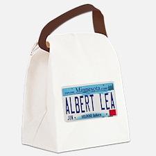 AlbertLeaMNLicensePlate.png Canvas Lunch Bag