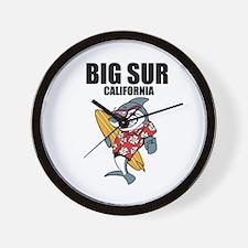 Big Sur, California Wall Clock
