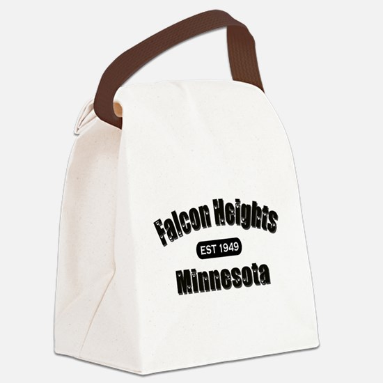 Falcon Heights est.png Canvas Lunch Bag