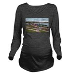 Wildwood Park.jpg Long Sleeve Maternity T-Shirt
