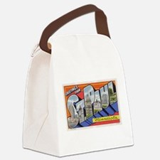 Greetings from St Paul 1937.jpg Canvas Lunch Bag