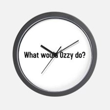 what would ozzy do? Wall Clock