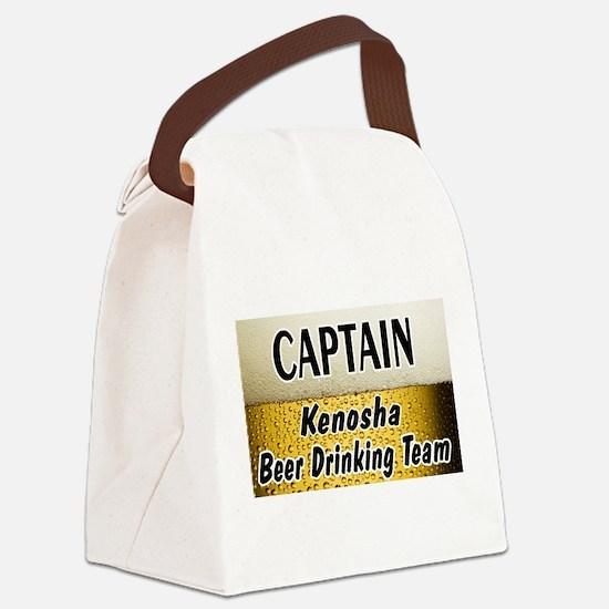 Kenosha Beer.jpg Canvas Lunch Bag