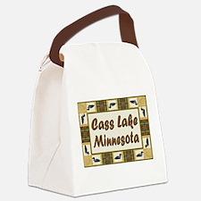 Cass Lake.jpg Canvas Lunch Bag