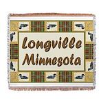 Longville Loons.jpg Woven Blanket