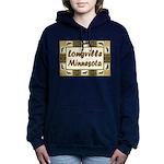 Longville Loons.jpg Women's Hooded Sweatshirt
