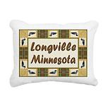 Longville Loons.jpg Rectangular Canvas Pillow