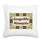 Longville Loons.jpg Square Canvas Pillow