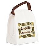 Longville Loons.jpg Canvas Lunch Bag