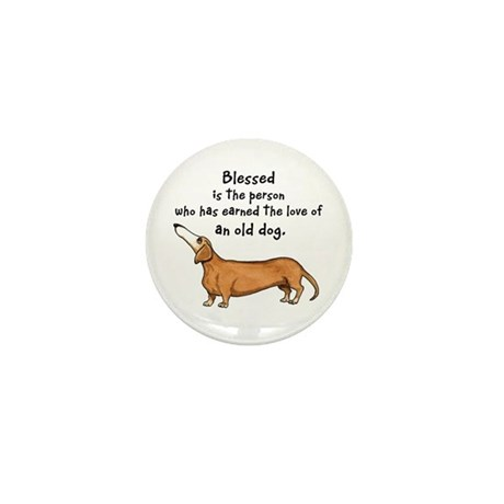 Old Dachshunds Mini Button (10 pack)
