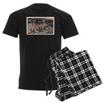 MysteryCave1.jpg Men's Dark Pajamas