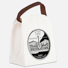 Utah Quarter.png Canvas Lunch Bag