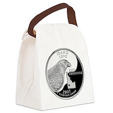 Idaho Quarter.png Canvas Lunch Bag