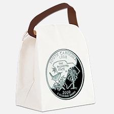 South Carolina Quarter.png Canvas Lunch Bag