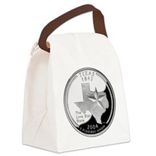 Texas Quarter.png Canvas Lunch Bag