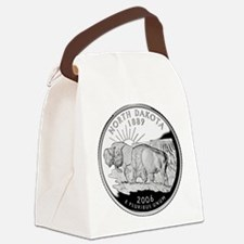 ND Quarter.png Canvas Lunch Bag