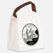 California Quarter.png Canvas Lunch Bag