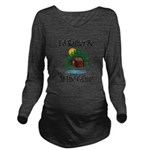 At The Cabin Long Sleeve Maternity T-Shirt