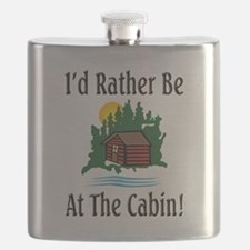 At The Cabin Flask